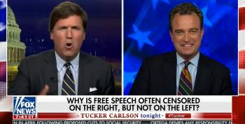 Fox's Tucker Carlson Goes To Bat For Alex Jones, Accuses CNN Of 'Squelching' His Free Speech