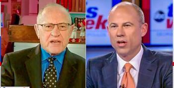 Michael Avenatti Crushes Alan Dershowitz For Poor 'Accuracy Rate' On Defending Trump