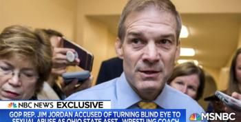 Rep. Jim Jordan's Excuses Implode After His OSU Boss Admits He Knew About Sexual Abuses