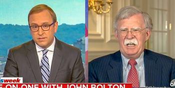 John Bolton Snaps At ABC Host For Asking Why He Cancelled CNN Interview: 'I Don't Communicate With Them'