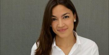 Alexandria Ocasio-Cortez Taunts NewsMax Host: 'How Scared You Are'