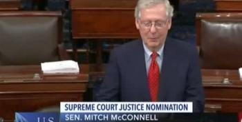Mitch McConnell Orders Dems To Treat Trump SCOTUS Pick With 'Respect And Dignity'