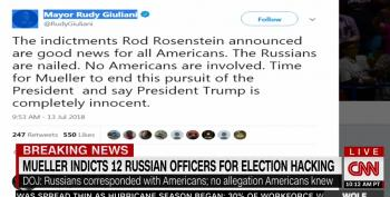 Rep. Schiff Pushes Trump To Cancel Putin Meeting, Mocks Giuliani's 'Vindication' Claim