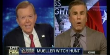 Lou Dobbs Hilariously Claims DOJ Is 'An Active Political Arm Of The Left'