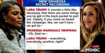 It's Lara Trump's Turn In Omarosa's Barrel