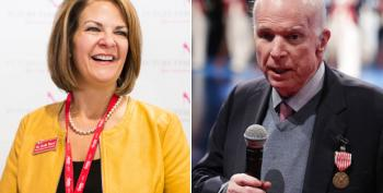 Trumper Kelli Ward Suggested McCain Ending Treatment Was Intended To Hurt Her Campaign