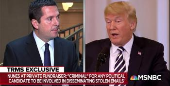 Devin Nunes Admits Receiving Stolen Emails From Foreigners Is A Crime