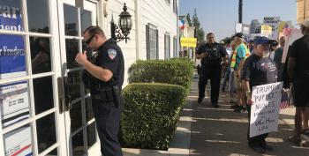 Devin Nunes' Office Calls 911 On Protesters