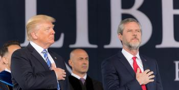 Jerry Falwell Jr. Says Founding Fathers Died So Trump Could Act Stupid