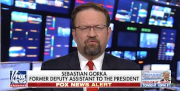 Fox News Bans Sebastian Gorka From Actual News Shows