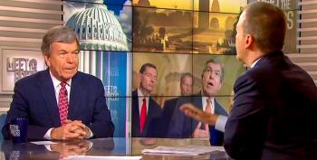 Chuck Todd Confronts Roy Blunt On Trump Racism: 'It's Always With An African-American, He Questions Intelligence'
