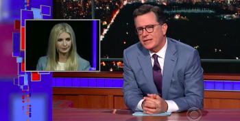 Colbert Completely Drags Ivanka Trump For Her Utter Uselessness