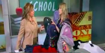 Fox Biz Host Promotes Designer  Bulletproof Backpacks For Back-To-School