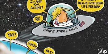 WATCH:  Matt Welch Calls Trump's 'Space Force' 'A Brain Fart'