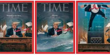 Time Magazine Covers Tell A Story: Trump Now Underwater