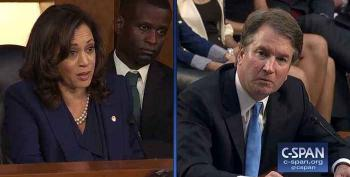 WATCH: Kavanaugh Stutters Over Kamala Harris' Question On Mueller Probe