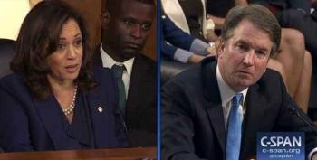 Kamala Harris Knew Exactly Who Kavanaugh Talked To At Kasowitz Law Firm When She Grilled Him