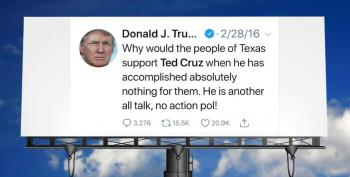 Activists Raise $10,000 In A Few Hrs To Put Up An Anti-Ted Cruz Tweet By Trump