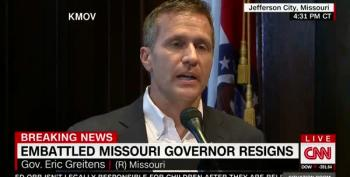 Today In Both Sides Don't:  Missouri Republicans Still Like Greitens