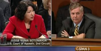 Flashback: Remember When Lindsey Graham Cared About 'Judicial Temperament'?