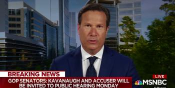 'Take The Handcuffs Off': Ex-FBI Official Calls On Trump To Let FBI Probe Kavanaugh Allegations