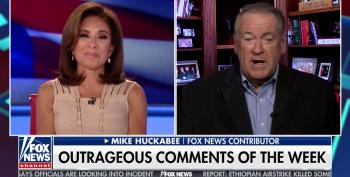 Huckabee 'Defends' Kavanaugh With Bigoted 'Joke' About Him Wearing A Dress And Hanging Out In Women's Restrooms