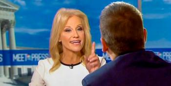 Kellyanne Conway Snaps At Chuck Todd For Suggesting Anti-Trump Essay Not Illegal