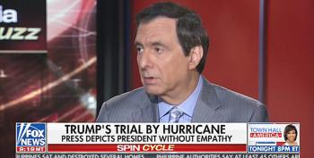 Howard Kurtz Defends Trump's Puerto Rico Response: Media Wants A President 'To Hug More People'