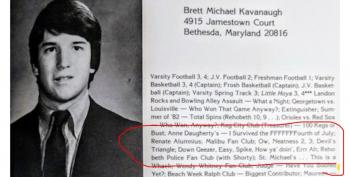 'Renate' Calls Kavanaugh Yearbook Boasts 'Horrible, Hurtful And Simply Untrue'