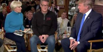 Joe Scarborough's Lifeboat Building: 'Trump Is A Democrat'