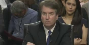 Did Zina Bash Flash A White Supremacist Sign Behind Kavanaugh For The World To See?