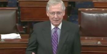 Mitch McConnell: 'This Is America! Everyone Deserves Better Than This'