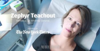 Zephyr Teachout Gets An Ultrasound