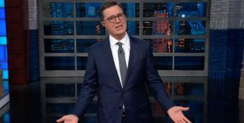 Colbert Mocks Trump For Refusing To Criticize Saudi Arabia's 'Mr. Bone Saw'
