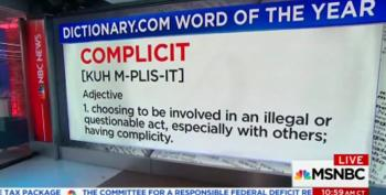 Welcome To 'Complicit Day' On Cable News