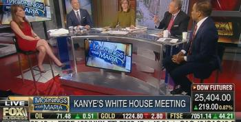 Kanye Said 'Mofo' In Oval Office, So Fox Host Brings Up The Blue Dress