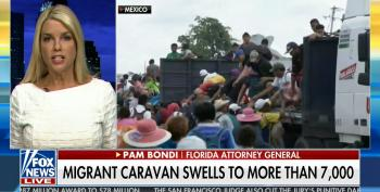 Pam Bondi: Children In Caravan Proves They're 'Not Here Peacefully'
