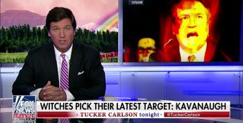Fox's Carlson Uses Witches' Hex On Kavanaugh As Excuse To Attack Planned Parenthood