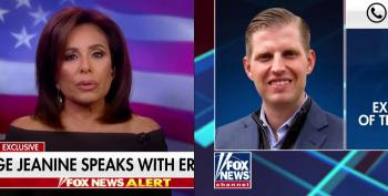 Eric Trump And Jeanine Pirro Applaud Trump's Post-Massacre Rally As Act Of Bravery