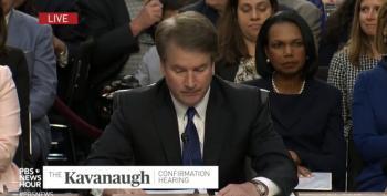 Dem Senators Get One Hour To Review Kavanaugh Investigation Report