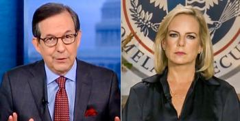 Chris Wallace Corners Kirstjen Nielsen: Can You Prove That Babies In Caravan 'Threaten National Security'?