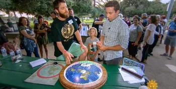 DERP: American Flat Earthers Tell CBS News That Photos Of The Planet Are 'Utterly False'