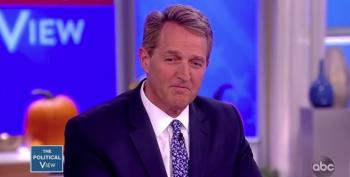 Jeff Flake Has Doubts About Kavanaugh Now That It's Too Late