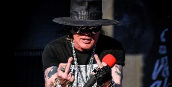 Axl Rose Gives Trump The Finger Over Using GNR Music