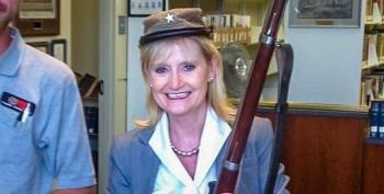Cindy Hyde-Smith Caught Wearing Confederate Army Hat