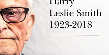 Harry Leslie Smith, Pioneer For Britain's National Health Service (1923-2018)