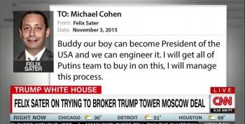 CNN: Felix Sater's Emails Tie Trump Tower Moscow To Russian Election Interference