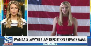 'Fox And Friends' Tries To Bury Ivanka's Email Scandal