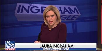 SNL's Kate McKinnon Takes Another Shot At Fox's The Ingraham Angle