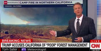 CNN Meteorologist Rips Trump For Fire Tweets